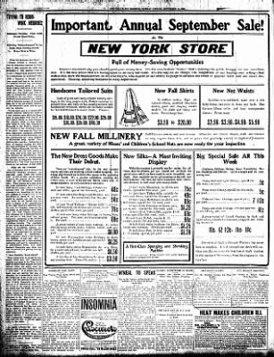 Iola Daily Register And Evening News from Iola, Kansas on September 15, 1908 · Page 6
