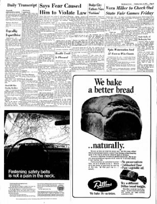 The Hutchinson News from Hutchinson, Kansas on September 14, 1971 · Page 8