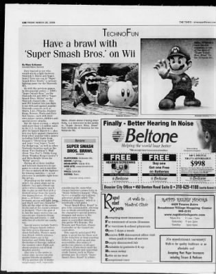 The Times from Shreveport, Louisiana on March 28, 2008 · Page 42