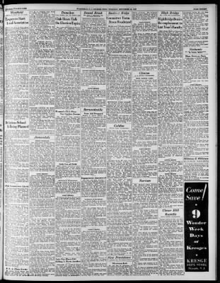 The Courier News From Bridgewater New Jersey On September 22 1932