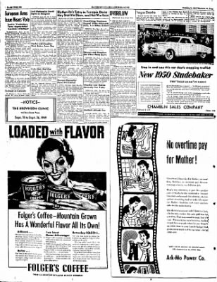 The Courier News from Blytheville, Arkansas on September 20, 1949 · Page 12