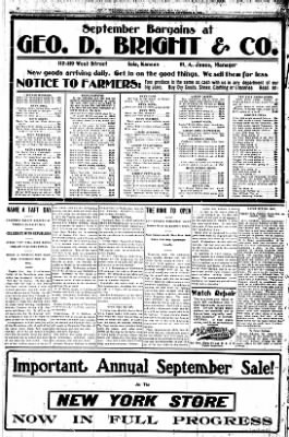 Iola Daily Register And Evening News from Iola, Kansas on September 21, 1908 · Page 6