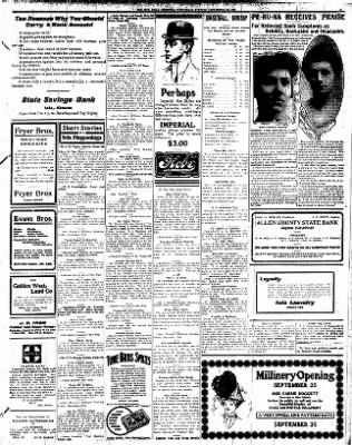 Iola Daily Register And Evening News from Iola, Kansas on September 23, 1908 · Page 5