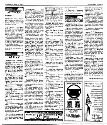 The Salina Journal from Salina, Kansas on April 9, 2001 · Page 22