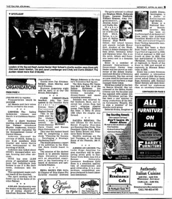 The Salina Journal from Salina, Kansas on April 9, 2001 · Page 23