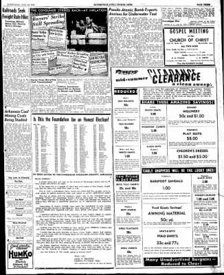 The Courier News from Blytheville, Arkansas on July 24, 1946 · Page 3