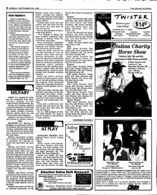 The Salina Journal from Salina, Kansas on September 30, 1996 · Page 16