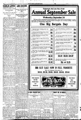 Iola Daily Register And Evening News from Iola, Kansas on September 29, 1908 · Page 6