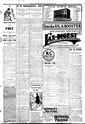 Iola Daily Register And Evening News from Iola, Kansas on September 29, 1908 · Page 7