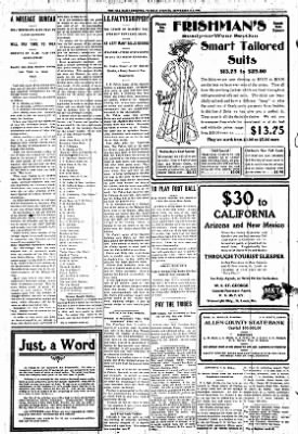 Iola Daily Register And Evening News from Iola, Kansas on September 29, 1908 · Page 8