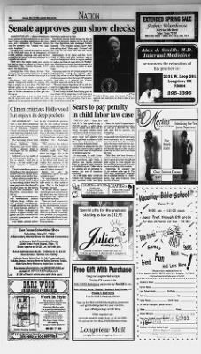Longview News-Journal from Longview, Texas on May 15, 1999