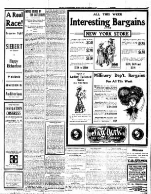 Iola Daily Register And Evening News from Iola, Kansas on October 5, 1908 · Page 7