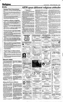 The Salina Journal from Salina, Kansas on January 11, 1986 · Page 7