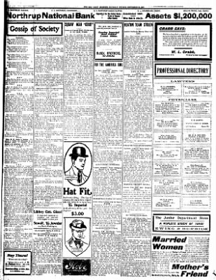 Iola Daily Register And Evening News from Iola, Kansas on September 26, 1907 · Page 2