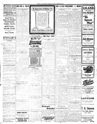 Iola Daily Register And Evening News from Iola, Kansas on September 26, 1907 · Page 5