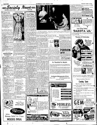 The Courier News from Blytheville, Arkansas on April 24, 1950 · Page 4