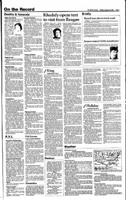 The Salina Journal from Salina, Kansas on January 12, 1986 · Page 7