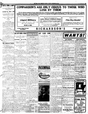 Iola Daily Register And Evening News from Iola, Kansas on September 28, 1907 · Page 3