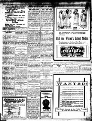 Iola Daily Register And Evening News from Iola, Kansas on September 30, 1907 · Page 6