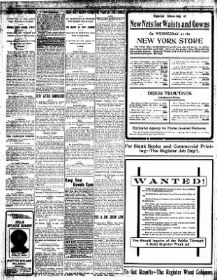 Iola Daily Register And Evening News from Iola, Kansas on October 1, 1907 · Page 6