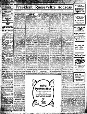 Iola Daily Register And Evening News from Iola, Kansas on October 2, 1907 · Page 4