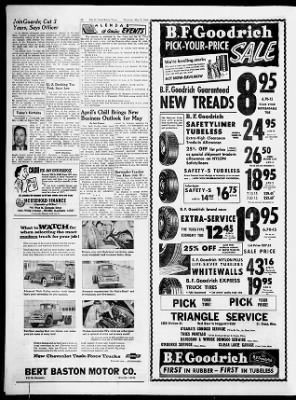 St  Cloud Times from Saint Cloud, Minnesota on May 3, 1956