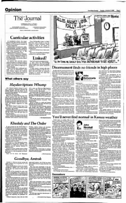 The Salina Journal from Salina, Kansas on January 13, 1986 · Page 4