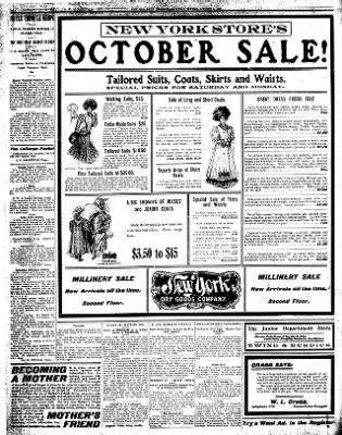 Iola Daily Register And Evening News from Iola, Kansas on October 5, 1907 · Page 8