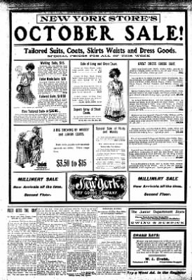 Iola Daily Register And Evening News from Iola, Kansas on October 7, 1907 · Page 6