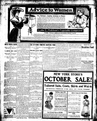 Iola Daily Register And Evening News from Iola, Kansas on October 9, 1907 · Page 6