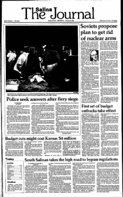 The Salina Journal from Salina, Kansas on January 16, 1986 · Page 1