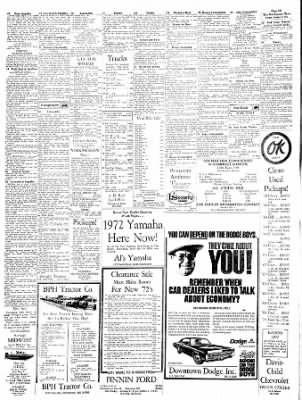 The Hutchinson News from Hutchinson, Kansas on October 1, 1971 · Page 17