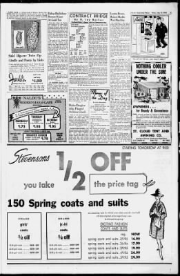 St  Cloud Times from Saint Cloud, Minnesota on May 10, 1962