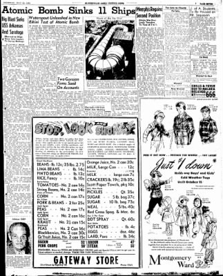 The Courier News from Blytheville, Arkansas on July 25, 1946 · Page 7