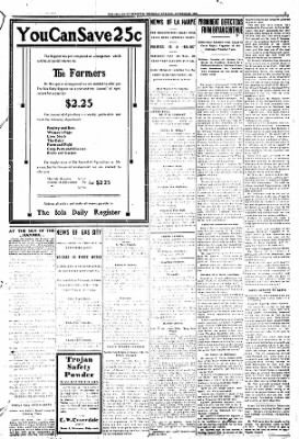 Iola Daily Register And Evening News from Iola, Kansas on October 22, 1908 · Page 3