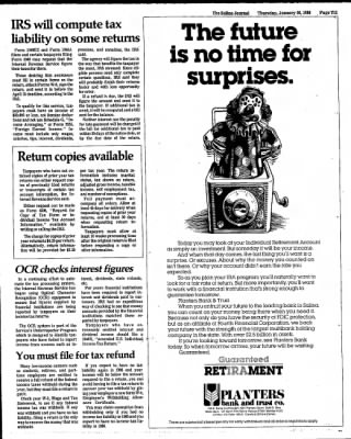 The Salina Journal from Salina, Kansas on January 16, 1986 · Page 31