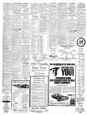 The Hutchinson News from Hutchinson, Kansas on October 1, 1971 · Page 44