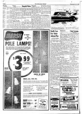 The Tipton Daily Tribune from Tipton, Indiana on November 18, 1964 · Page 6