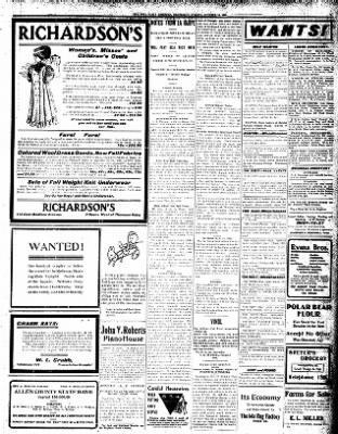 Iola Daily Register And Evening News from Iola, Kansas on October 16, 1907 · Page 3