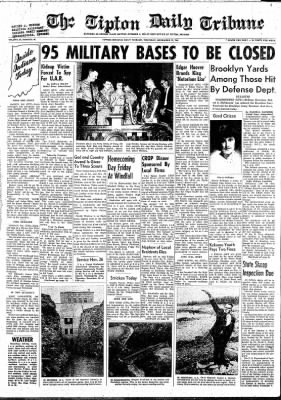 The Tipton Daily Tribune from Tipton, Indiana on November 19, 1964 · Page 1