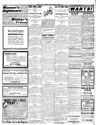 Iola Daily Register And Evening News from Iola, Kansas on October 17, 1907 · Page 3