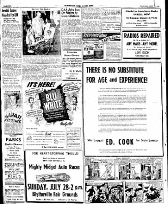 The Courier News from Blytheville, Arkansas on July 25, 1946 · Page 10