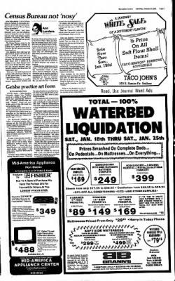 The Salina Journal from Salina, Kansas on January 18, 1986 · Page 7