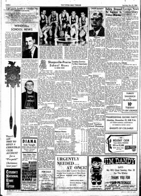 The Tipton Daily Tribune from Tipton, Indiana on November 21, 1964 · Page 6