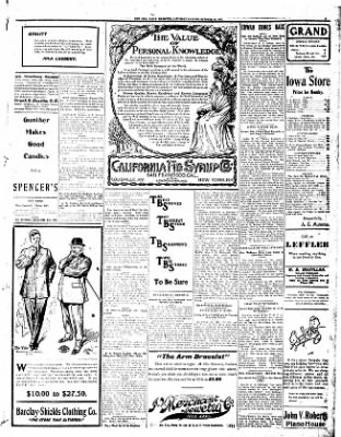 Iola Daily Register And Evening News from Iola, Kansas on October 19, 1907 · Page 5