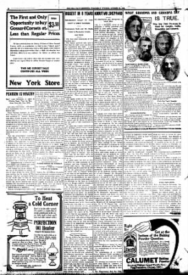 Iola Daily Register And Evening News from Iola, Kansas on October 28, 1908 · Page 8