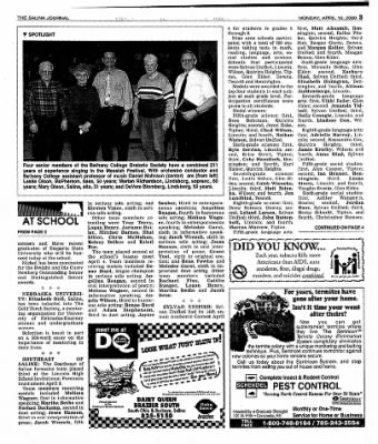 The Salina Journal from Salina, Kansas on April 16, 2001 · Page 21