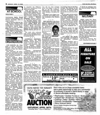 The Salina Journal from Salina, Kansas on April 16, 2001 · Page 24