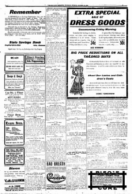 Iola Daily Register And Evening News from Iola, Kansas on October 29, 1908 · Page 5