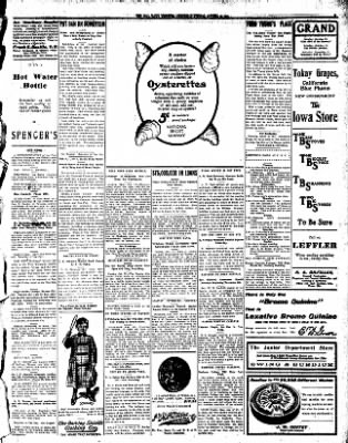 Iola Daily Register And Evening News from Iola, Kansas on October 23, 1907 · Page 5